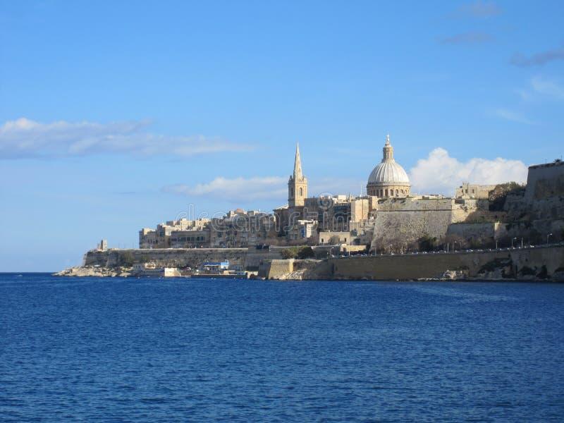 Valletta, Malta's capital city stock photos