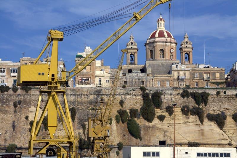 Valletta Schronienie zdjęcia stock
