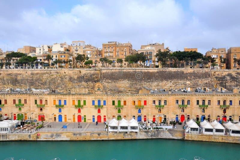 Valletta stad, Malta royaltyfria bilder