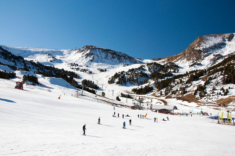 Download Valley of Andorra stock image. Image of peak, high, snowboard - 26969531