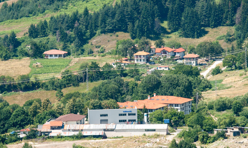 The valley in the Bulgarian Rhodopes stock photos