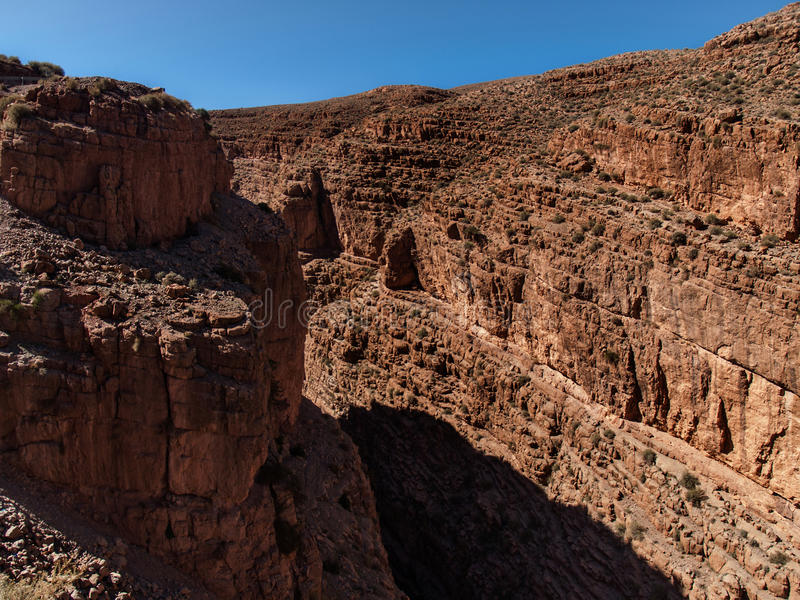 Valley of Dades stock image