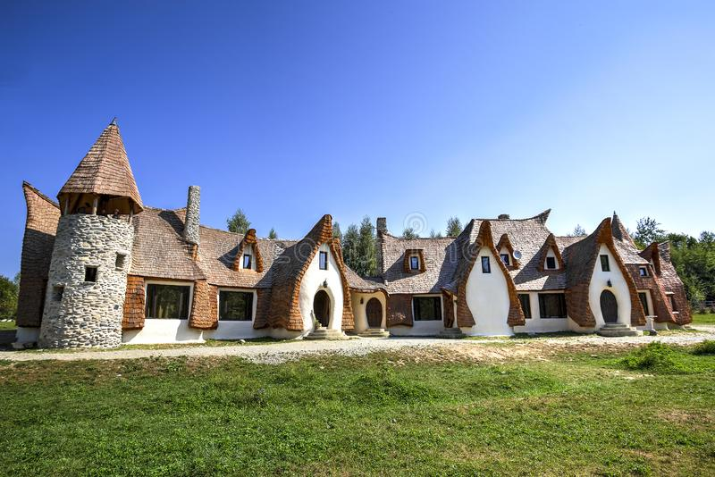 The Valley of the Fairies, Romania stock photo