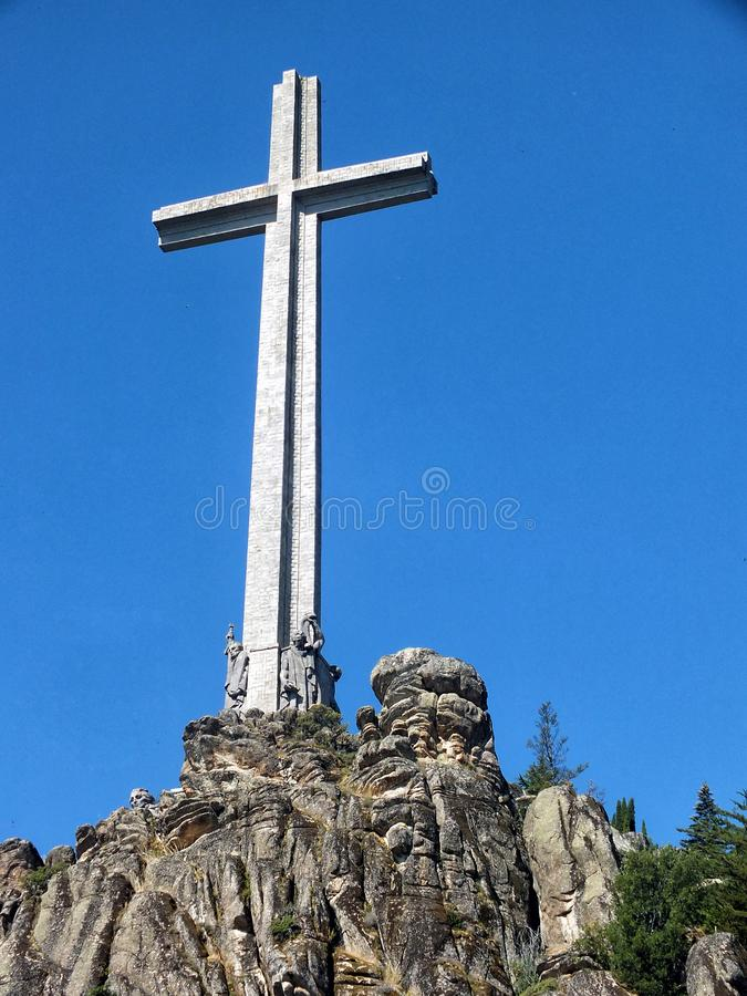 Valley of the Fallen stock image