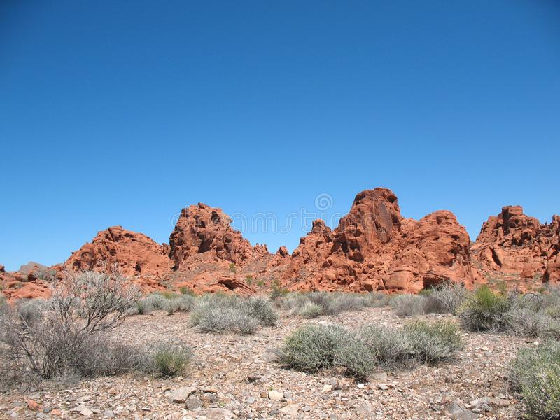 Download Valley of Fire Nevada stock image. Image of north, desert - 14263783