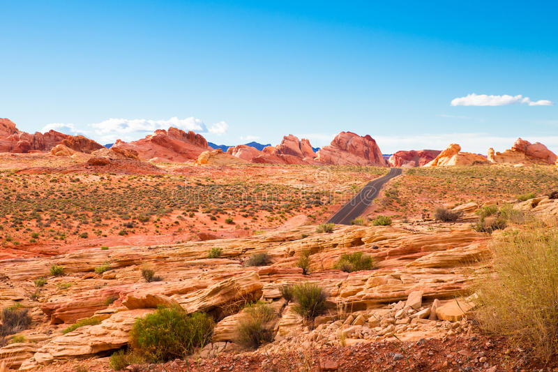 Valley of Fire Nevada stock photography