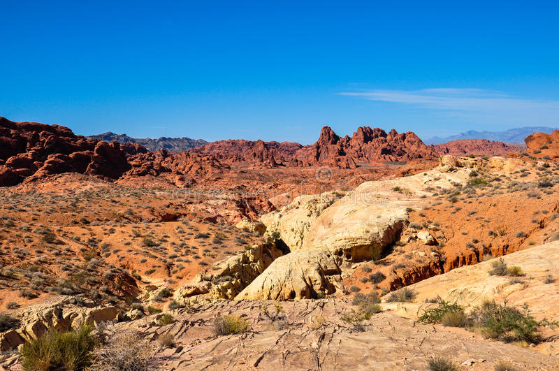 Valley Of Fire Provincial Park, Nevada, USA Stock Photo