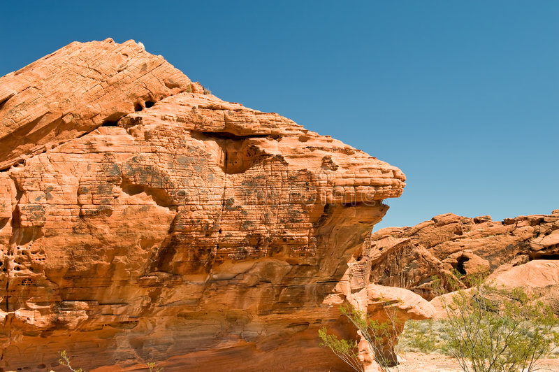 Valley of Fire rock formation royalty free stock images