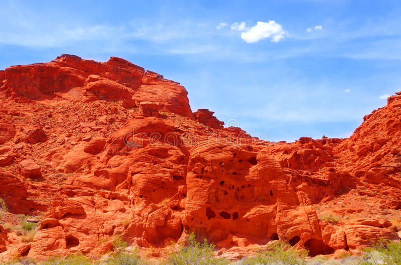 Download Valley of fire stock photo. Image of fire, yellow, north - 43499280