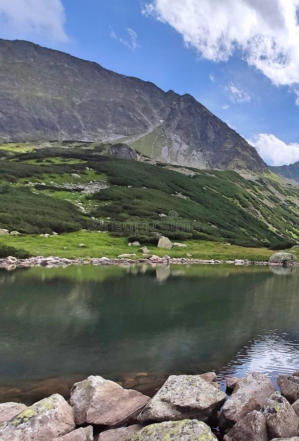 Valley of five ponds in the Tatra Mountains. Zakopane Poland stock photography