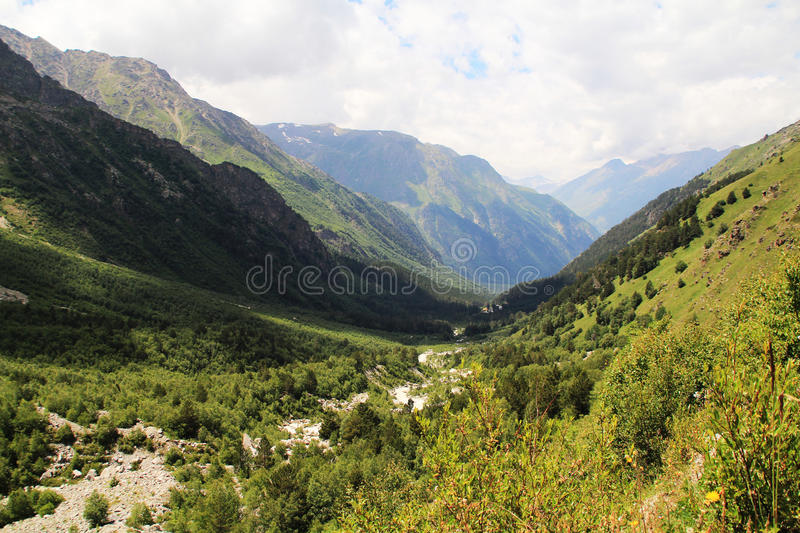 Valley stock image