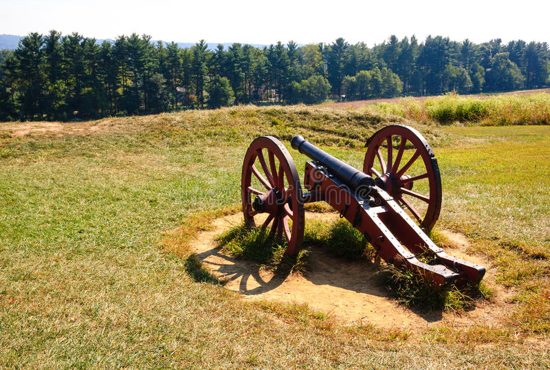 Valley Forge National Historical Park. Revolutionary War royalty free stock photos
