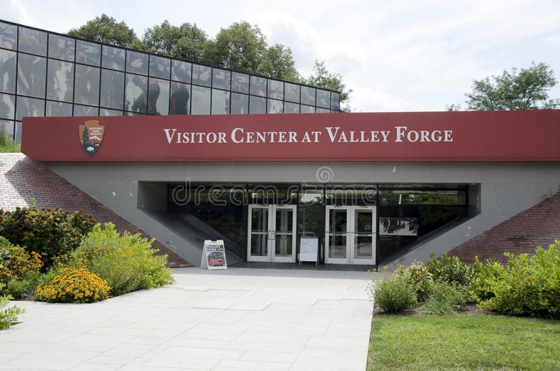 Valley Forge. The visitor center at Valley Forge National Historical Park royalty free stock photos