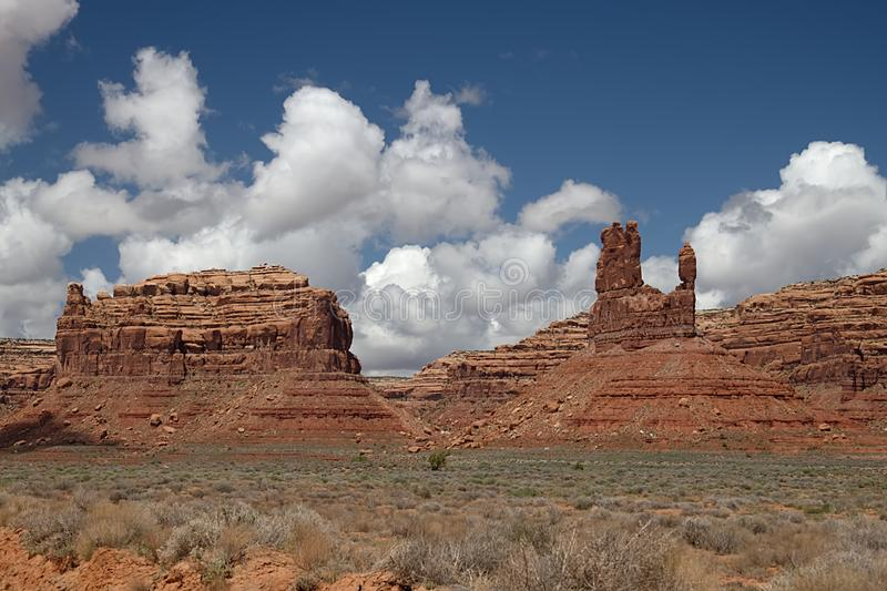 Valley of the Gods Utah 3528. Valley of the Gods 3528 royalty free stock images