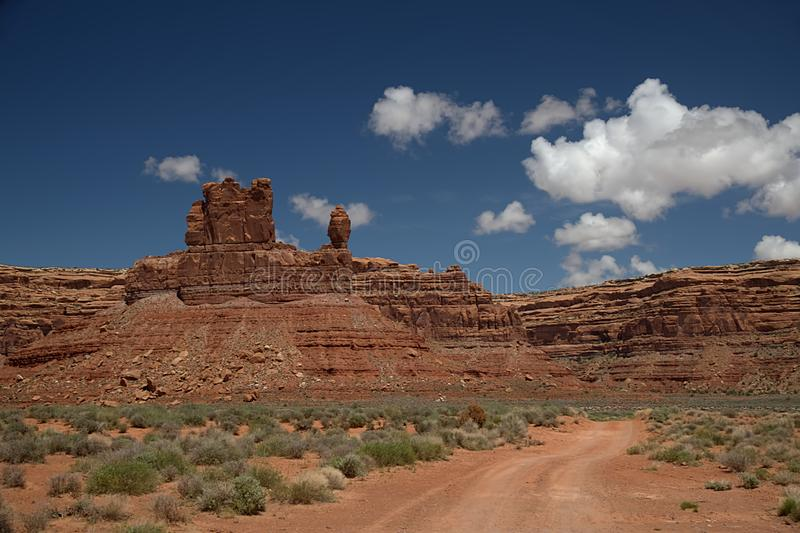 Valley of the Gods Utah 3531. Valley of the Gods 3531 royalty free stock photo