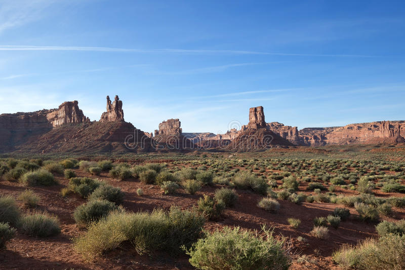 Valley of the Gods royalty free stock images