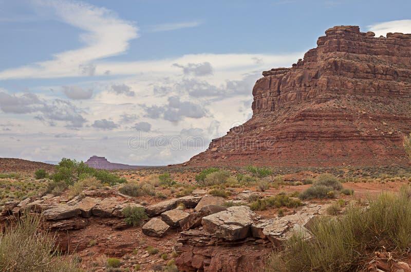Valley Of Gods, Utah Royalty Free Stock Photo