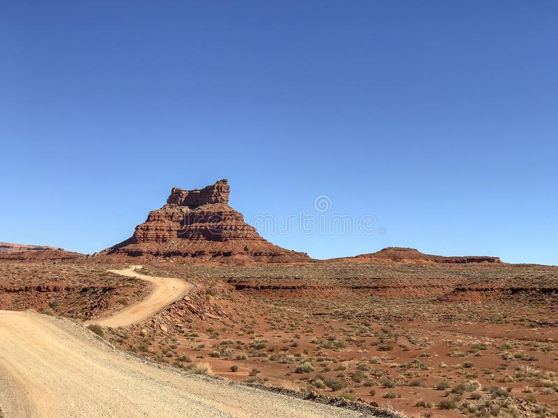 Valley of the Gods, Utah royalty free stock image