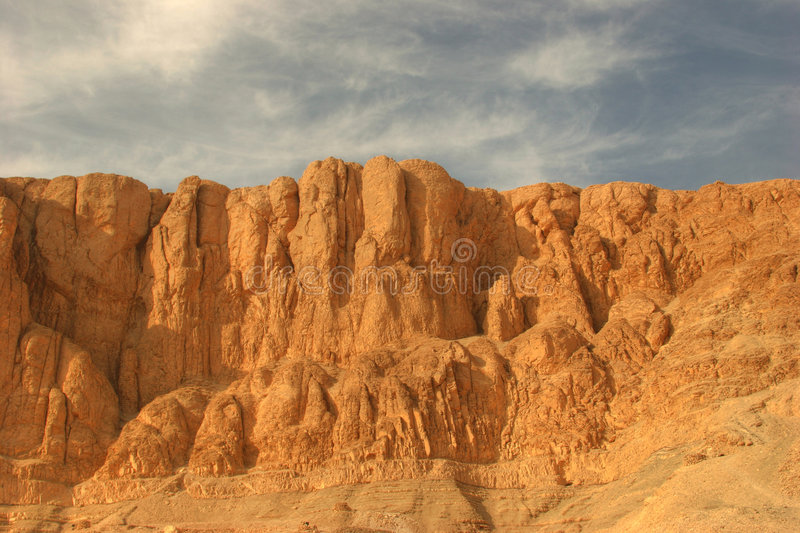 Valley of the kings. Egypt Valley of the Kings royalty free stock photo