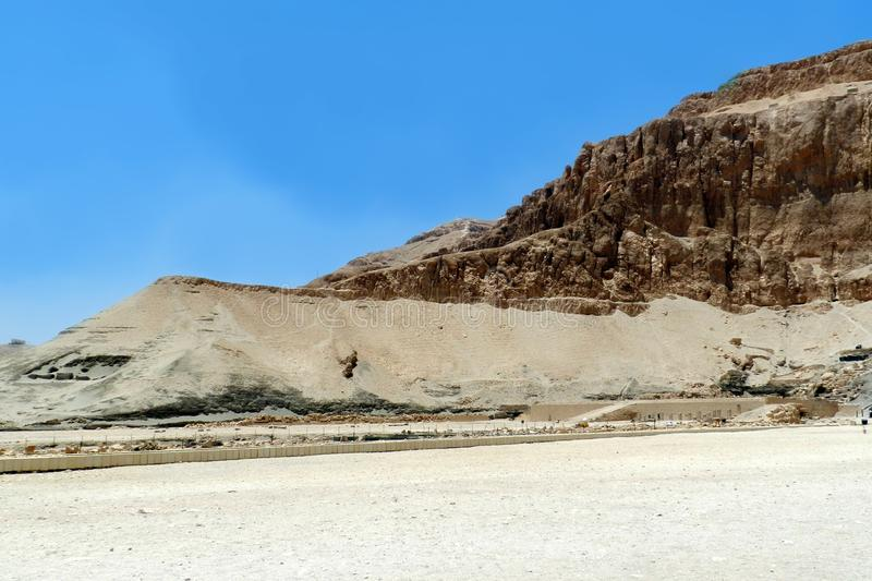 Valley of the kings Egypt royalty free stock images