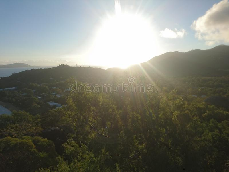 Valley magnetic Island royalty free stock photography