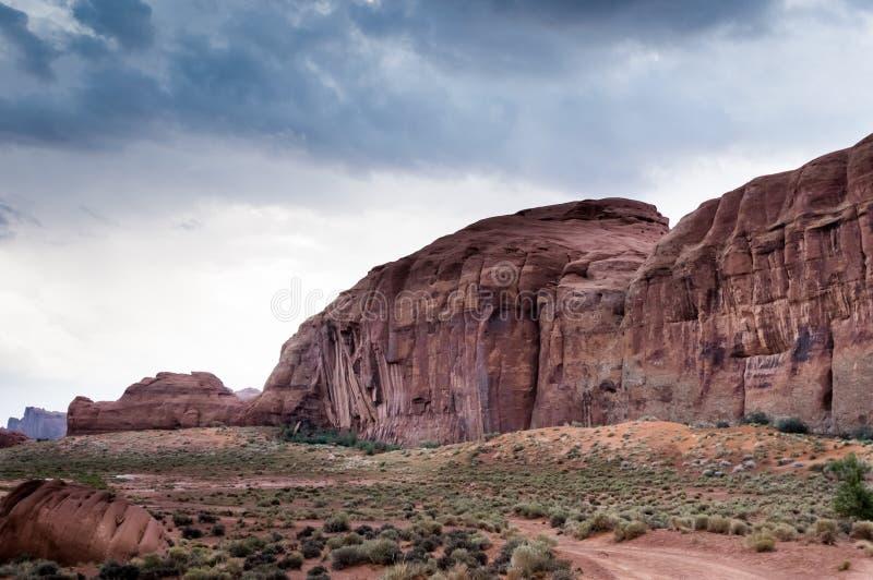 Valley monument canyon colorado sandstone stock photography