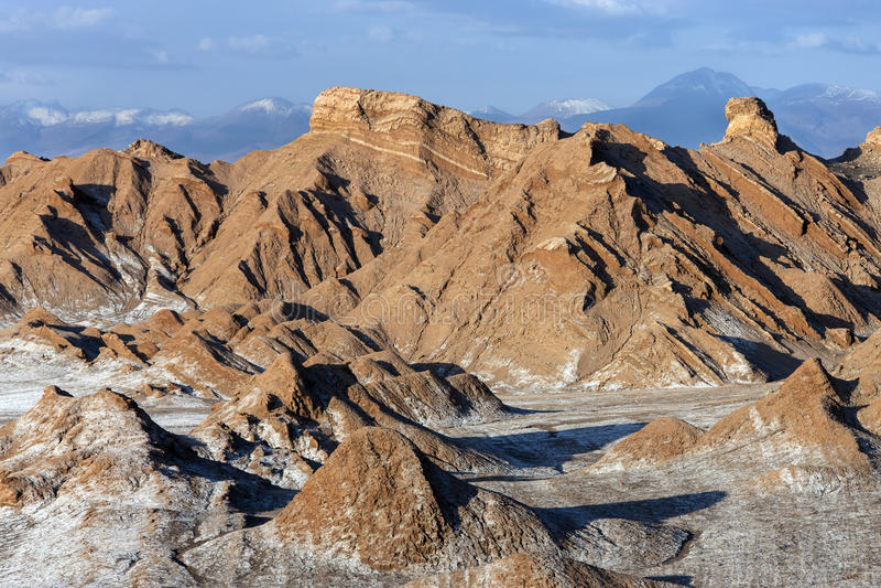 Valley of the Moon - Atacama Desert - Chile royalty free stock image