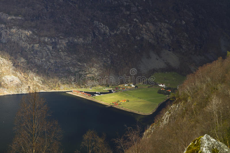 Download Valley In Norway In Changeful Weather Stock Photo - Image: 26920774