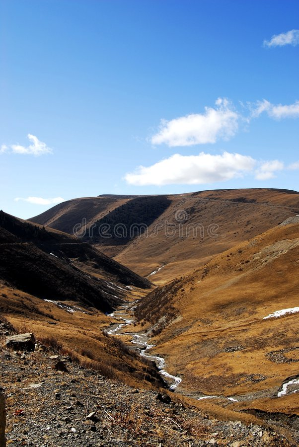 Free Valley Of Chuanxi Plateau Stock Image - 8724561