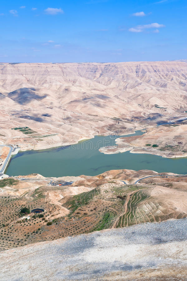 Free Valley Of Wadi Al Mujib River And Dam, Jordan - 3 Stock Image - 23982221