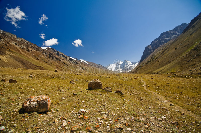 Valley Of Pamir Stock Image