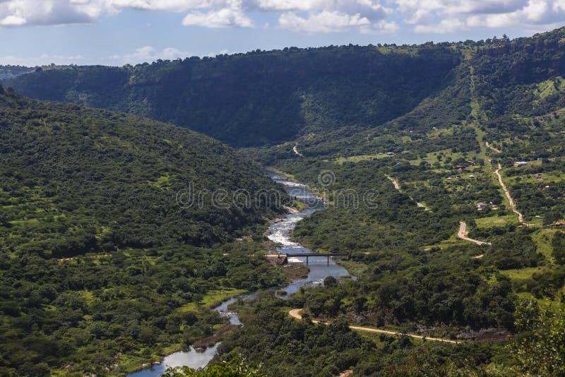 Download Valley River Summer stock image. Image of trees, landscape - 28191811