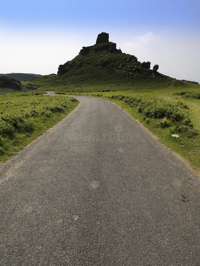 Download Valley of the rocks stock photo. Image of hills, england - 9973494