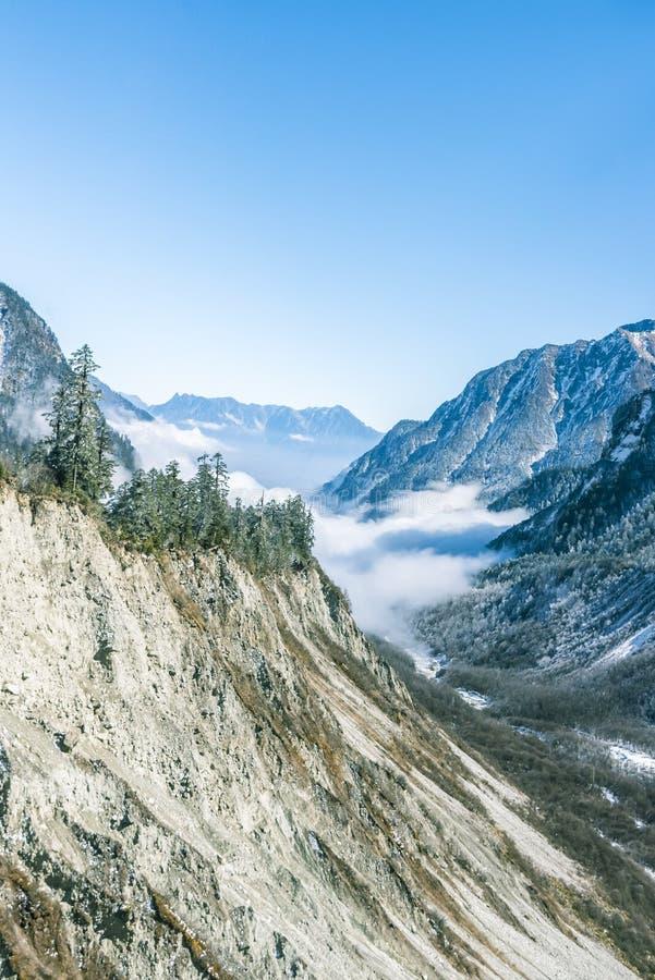Valley scenery royalty free stock photo