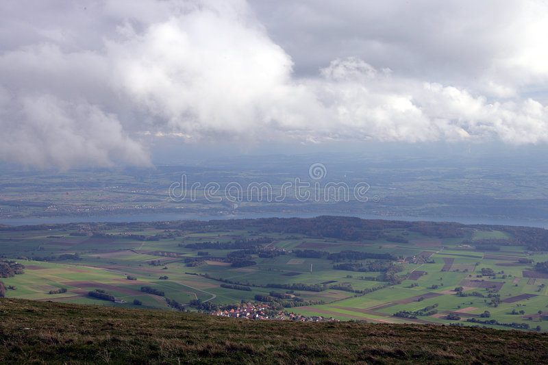 Download Valley View 1 stock image. Image of fields, romantic, europe - 1415367