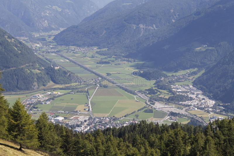 Download Valley stock image. Image of village, city, alps, green - 83714479