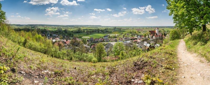 Valley of vistula river royalty free stock images