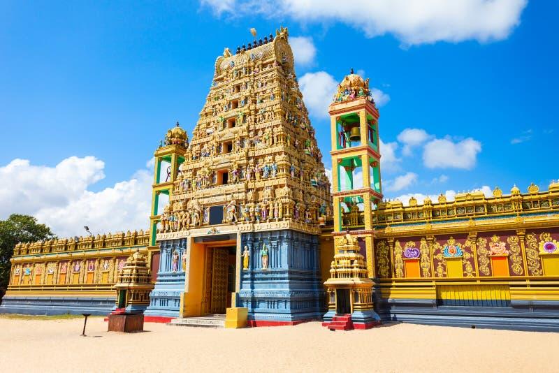 Vallipuram Alvar Vishnu寺庙 库存照片