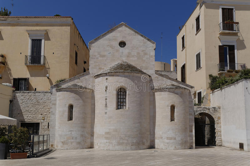 Vallisa church bari italy. Image taken of valisa church Ferrarese Square, bari, puglia royalty free stock image