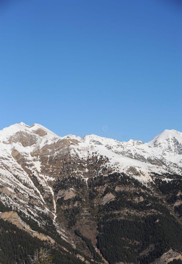 Vallnord baśniowe góry, Europa ksiąstewko Andorra wschodni Pyrenees sektor narciarstwo kumpel obrazy royalty free