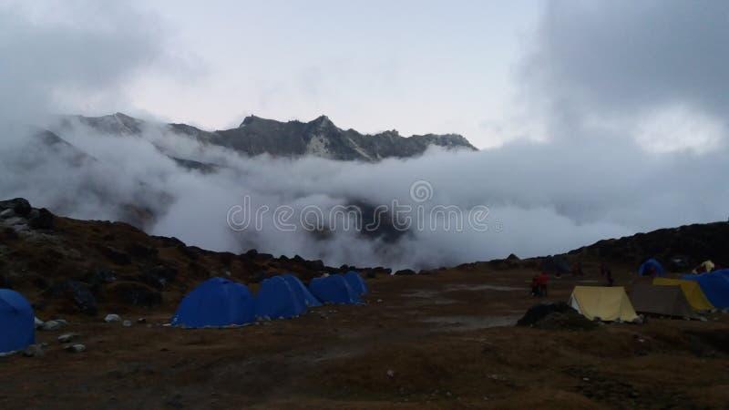 Vally della nuvola fotografia stock