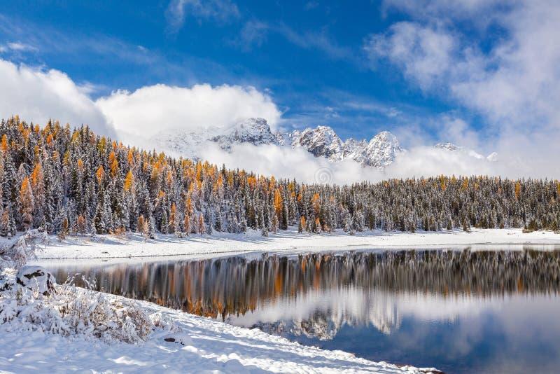 Valmalenco - Valtellina IT - Lake Palù in winter season. Valmalenco - Valtellina IT - Lake Pal stock photos