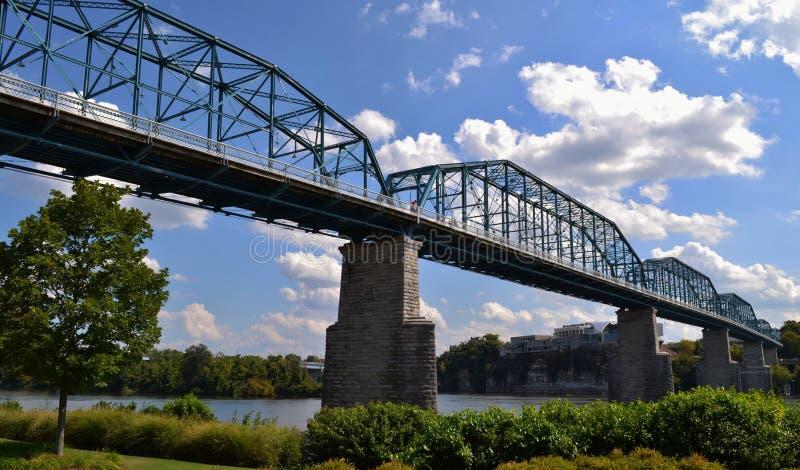 Valnötgatabro i Chattanooga arkivfoto