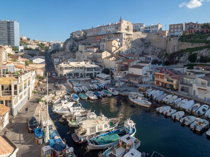 Valon DES Aufes in Marseille, Frankreich lizenzfreie stockbilder
