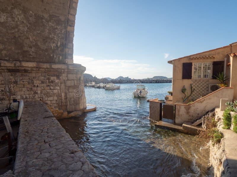Valon DES Aufes in Marseille, Frankreich stockfotos