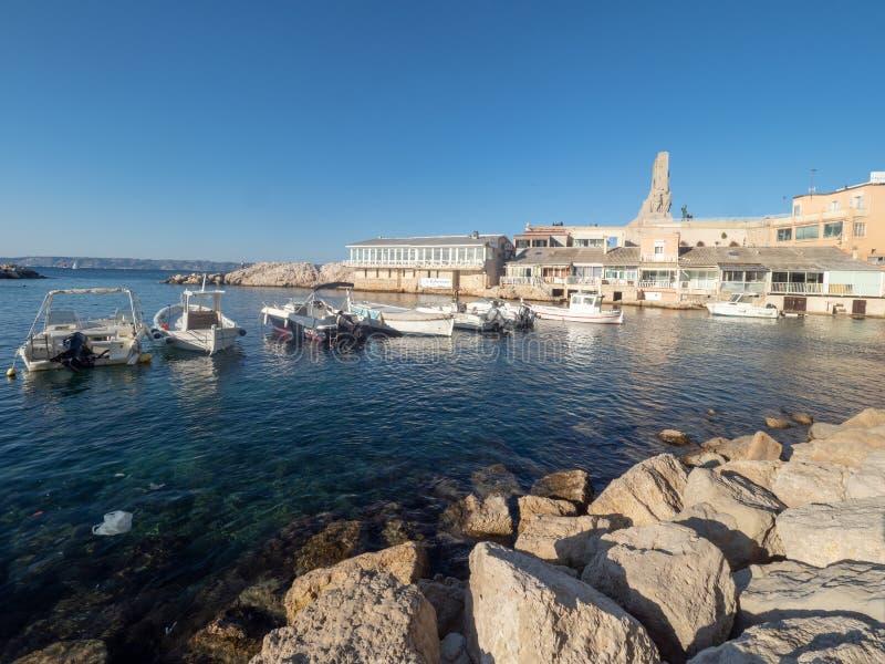 Valon des Aufes w Marseille, Francja obraz stock