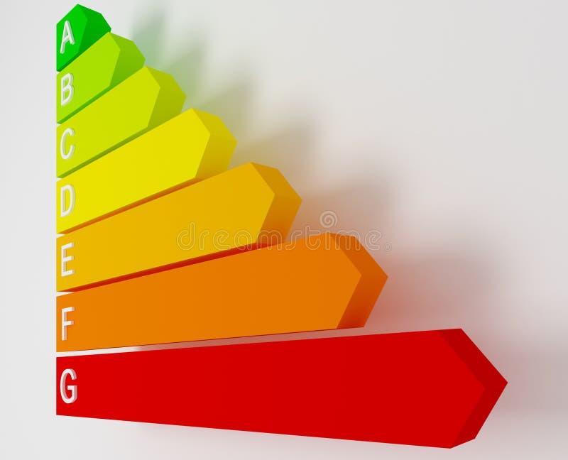 Valor da energia ilustração stock