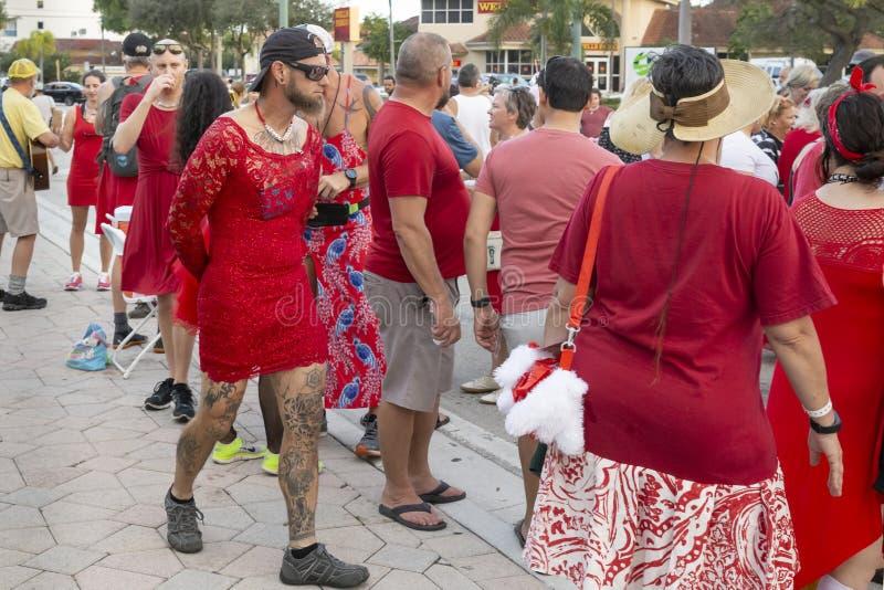 Valor do lago, Florida, EUA 23-24 fabuloso, 25o festival anual da pintura da rua 2019 foto de stock