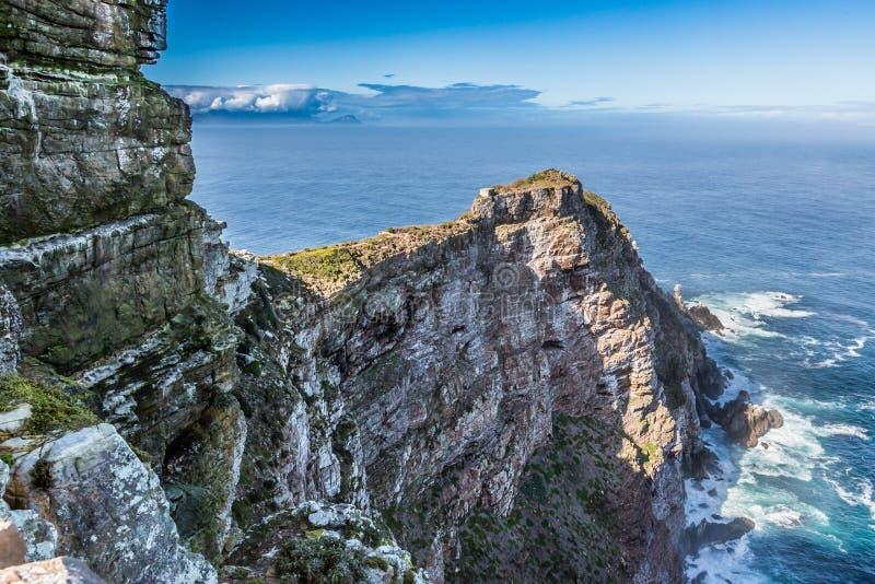 Valor-limite e oceano da península do ponto do cabo imagens de stock royalty free