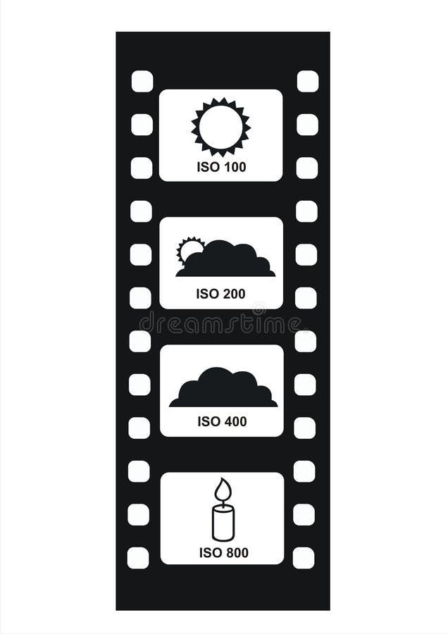 Valores 1 de la ISO libre illustration